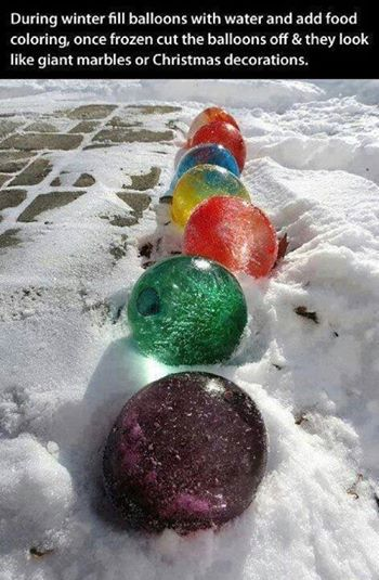 water balloon decorations