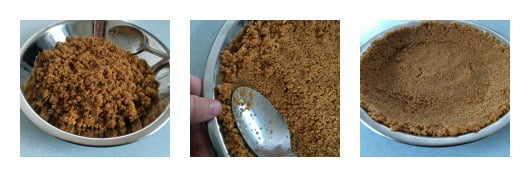 Recipe Graham Cracker Crust collage