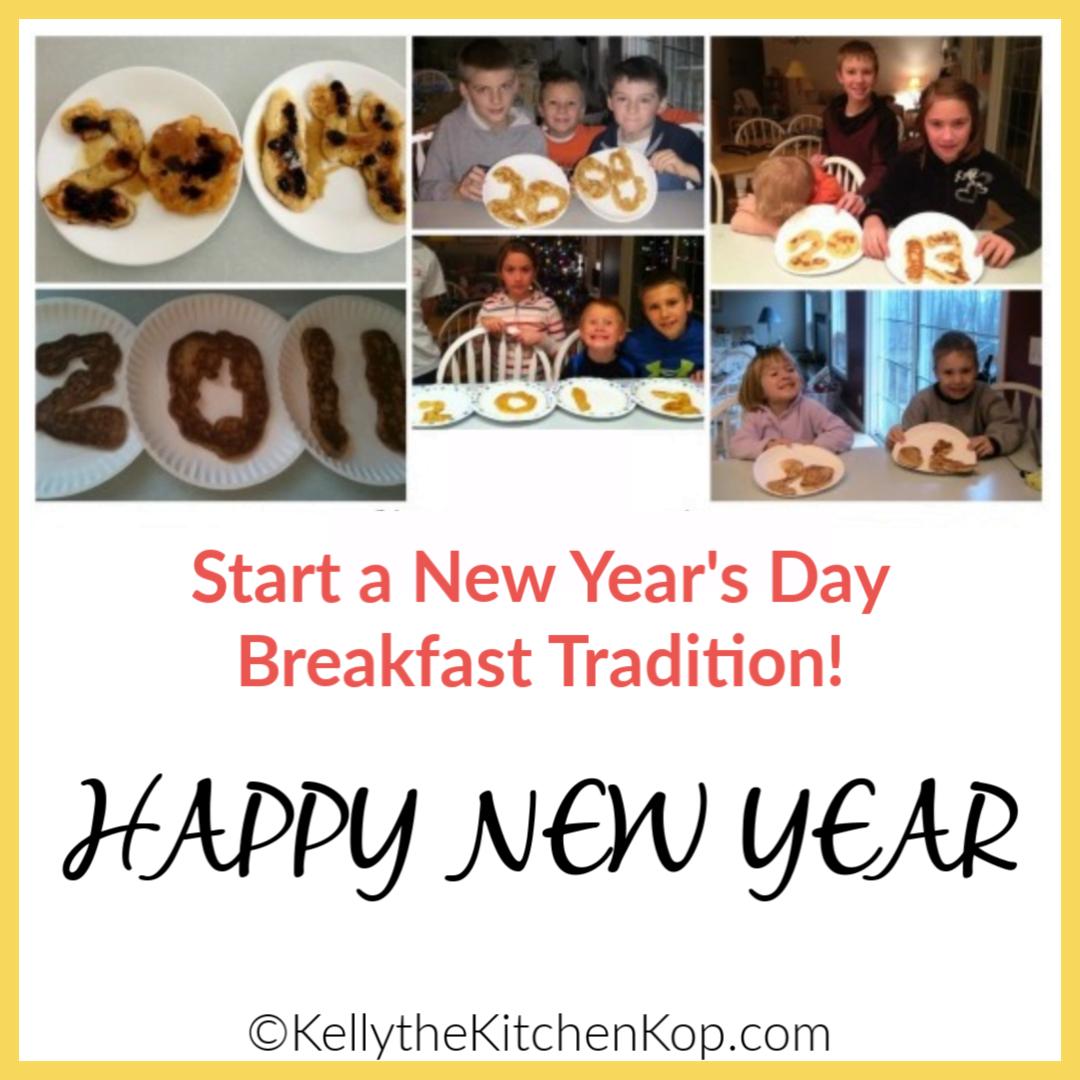 New Years Day breakfast