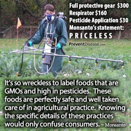 Monsanto labels