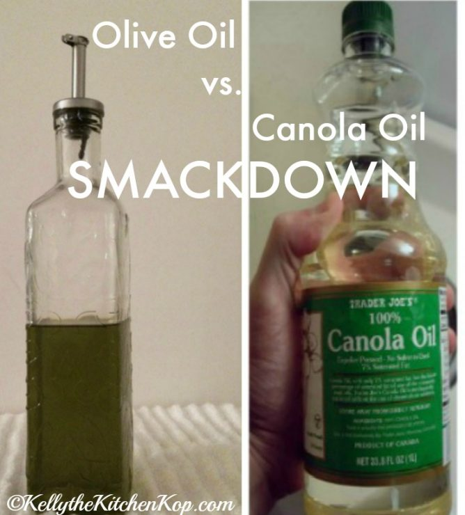olive oil vs canola oil smackdown