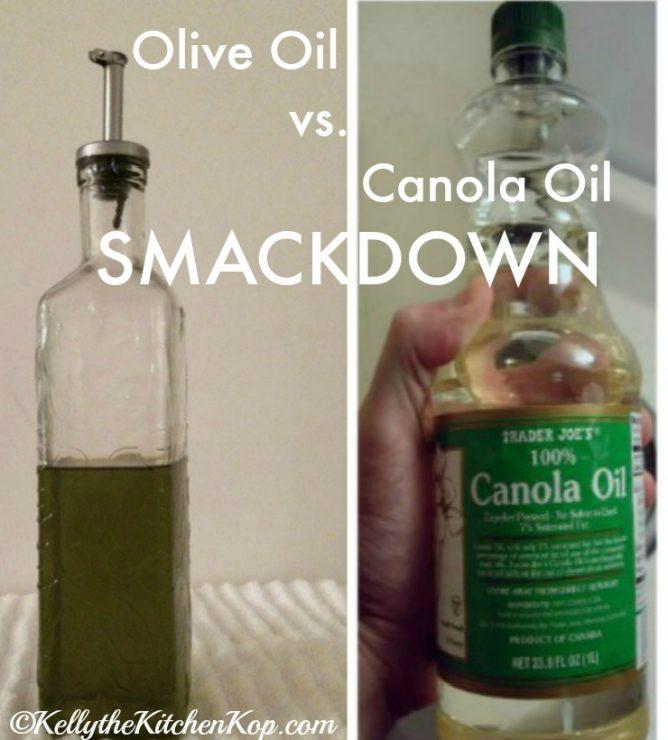 olive oil vs canola oil smackdown