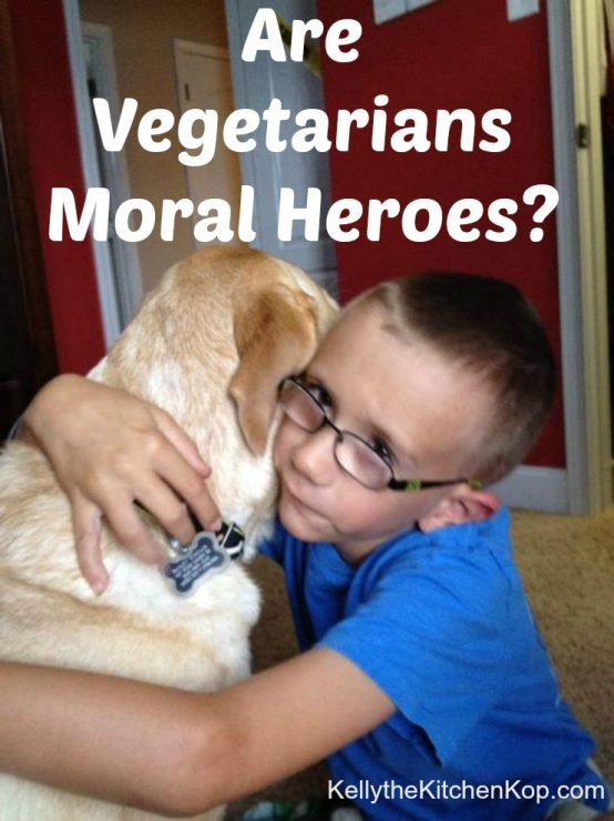 Are Vegetarians Moral Heroes
