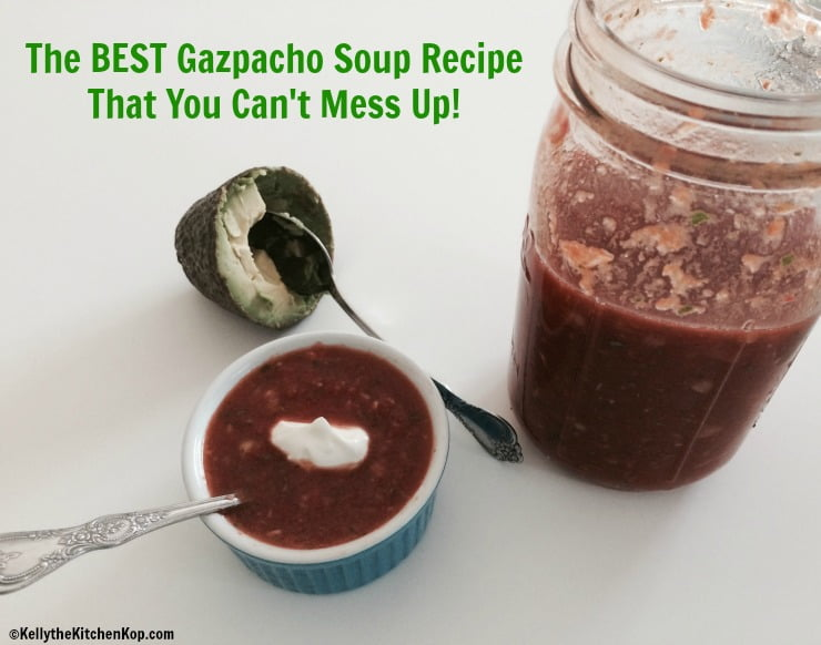 Best Gazpacho Soup Recipe