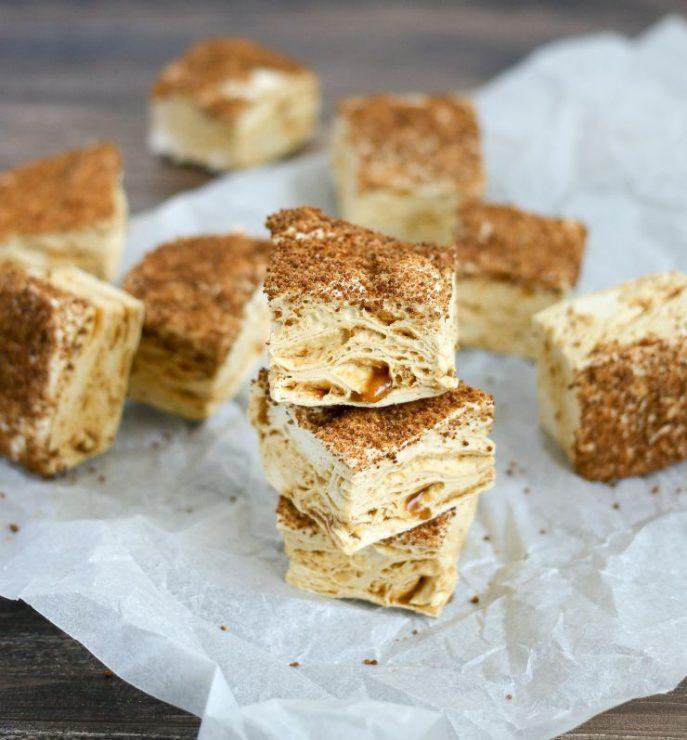 ... Health Benefits: Homemade Sea Salt Caramel Marshmallows + Smores Bars