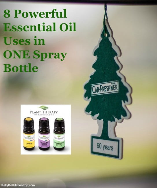 8 Powerful Essential Oil Uses in ONE Spray Bottle