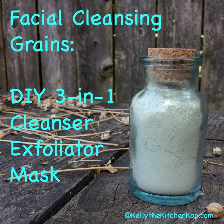 DIY Facial Cleansing Grains