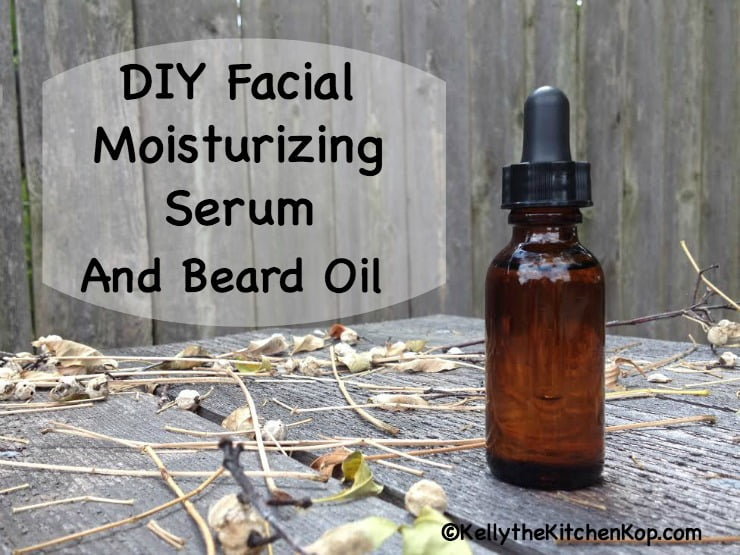 DIY Facial Serum and Beard Oil