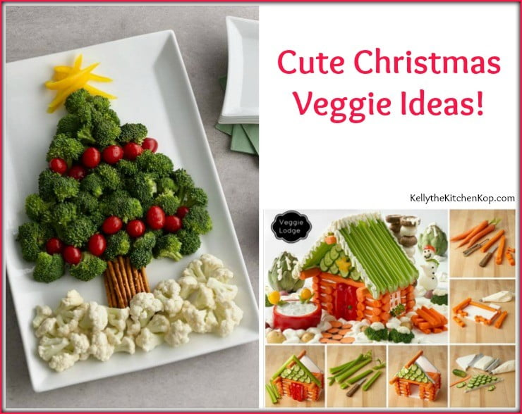 Christmas veggies