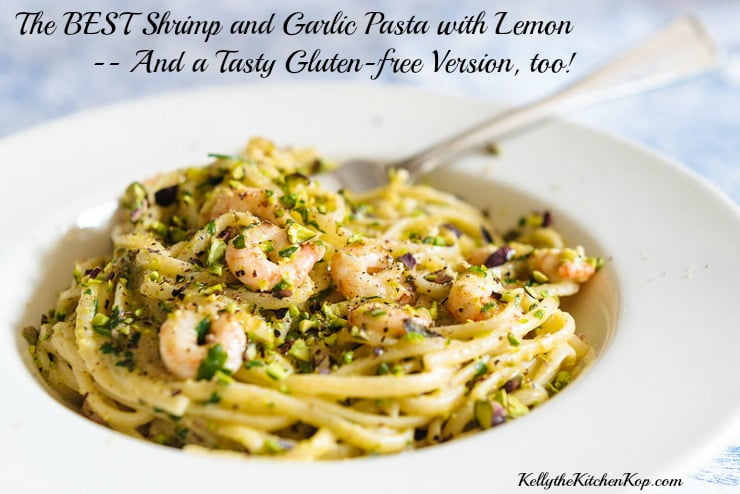 Shrimp and Garlic Pasta