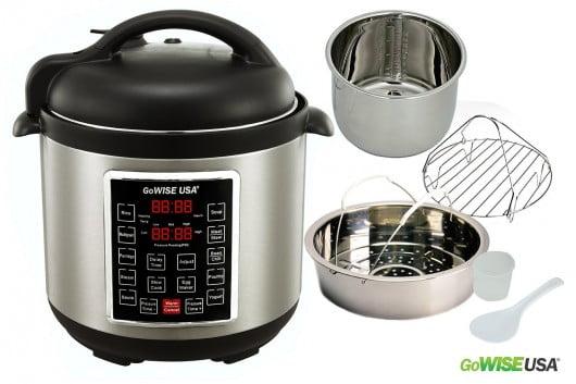 8 qt. pressure cooker