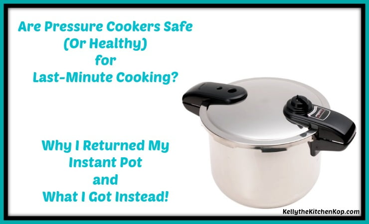 Are Pressure Cookers Safe