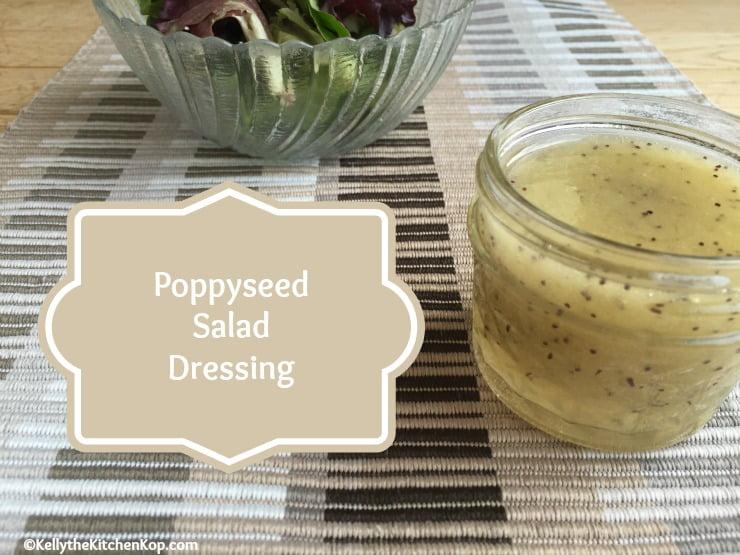 Homemade Poppyseed Salad Dressing