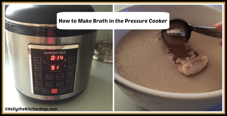 Pressure Cooker Broth