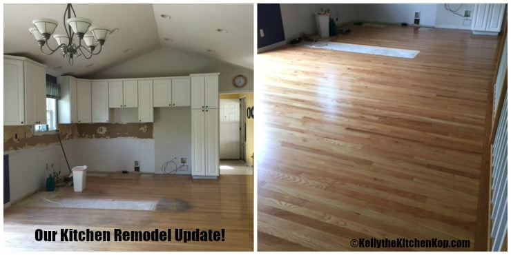 Our kitchen remodeling update kelly the kitchen kop for Updated kitchen remodels