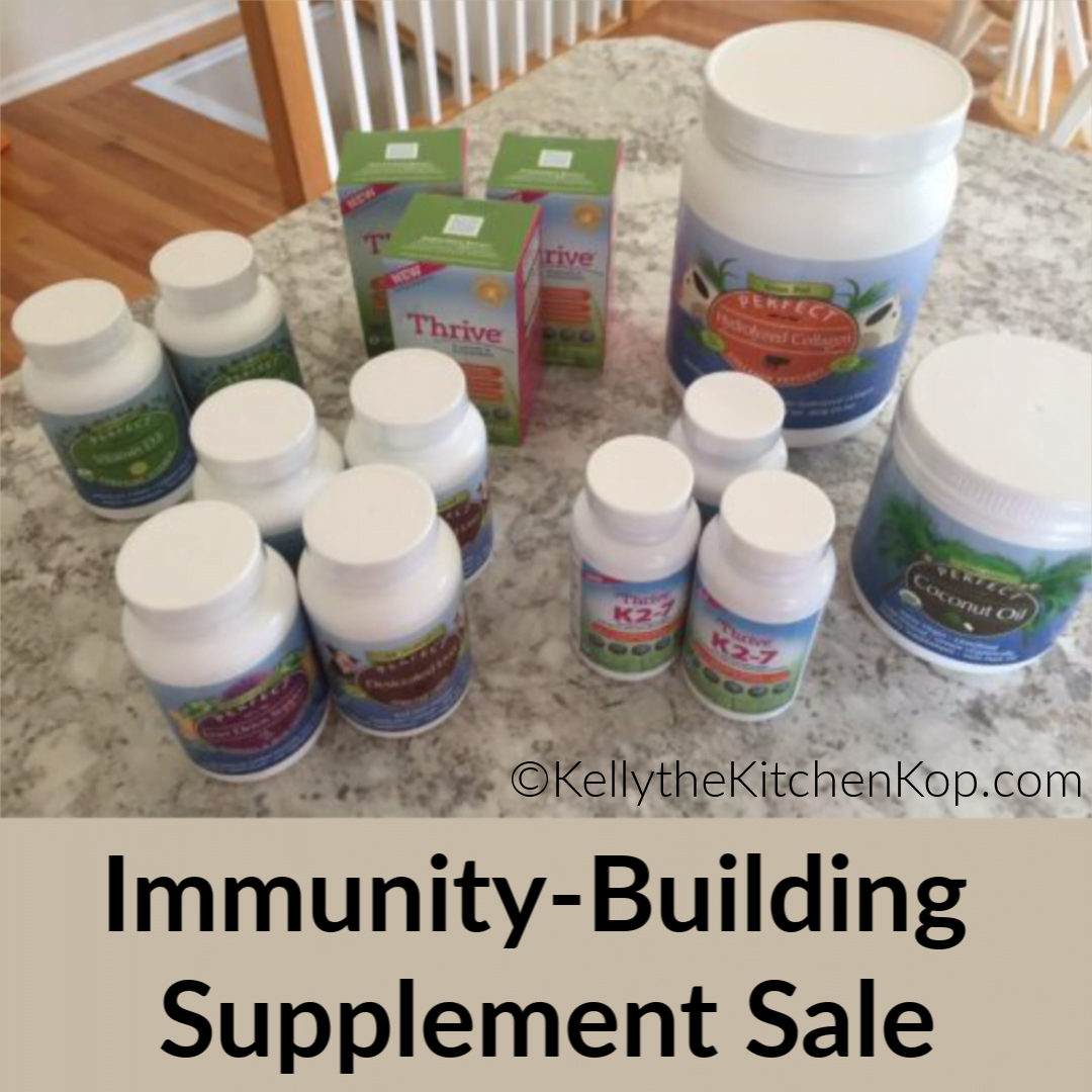 Immunity-building supplements