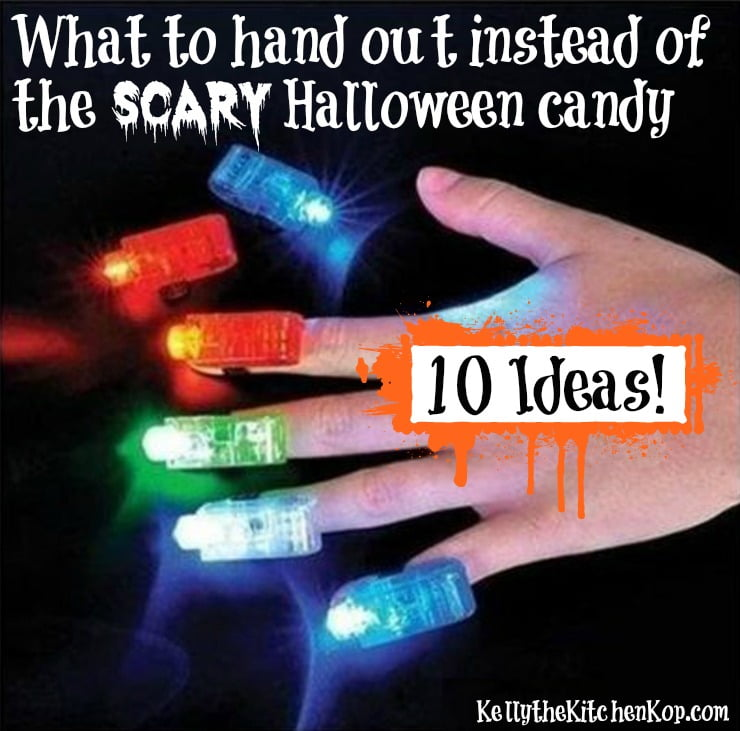 What to Give Out Instead of Candy for Halloween