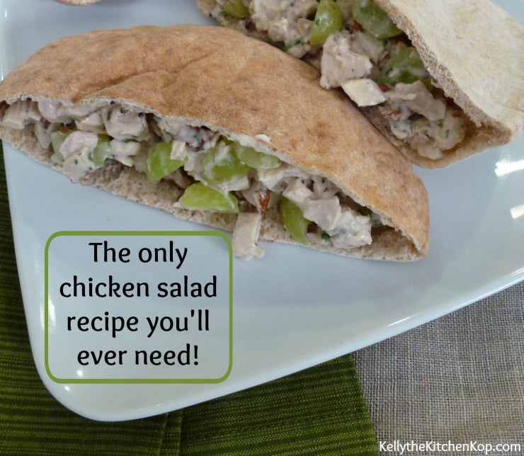 The Only Organic Chicken Salad Recipe You'll Ever Need