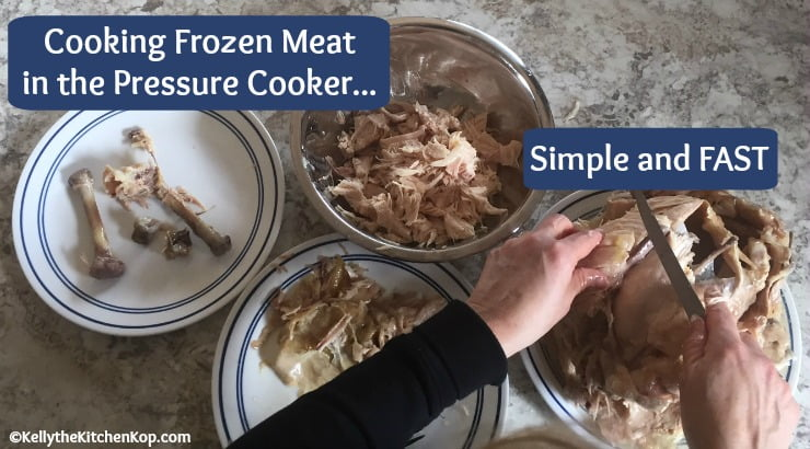 Cooking Frozen Meat in the Pressure Cooker