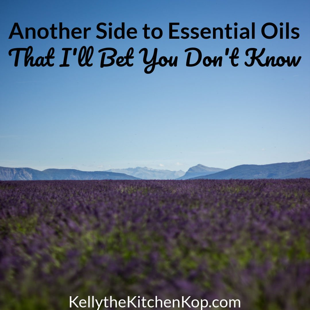 Another Side to Essential Oils