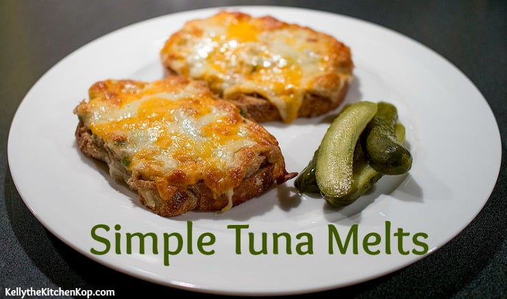 Simple Tuna Melt Sandwich for a Fast Dinner - Kelly the Kitchen Kop