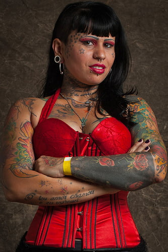 Tattoo Lady