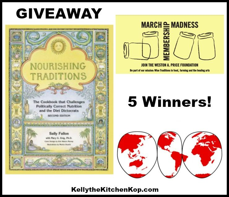 Nourishing Traditions GIVEAWAY