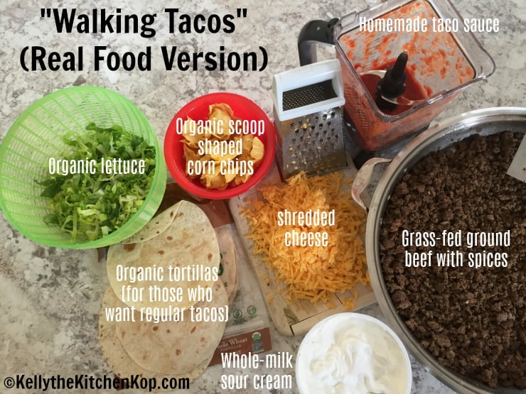 Real Food Walking Tacos