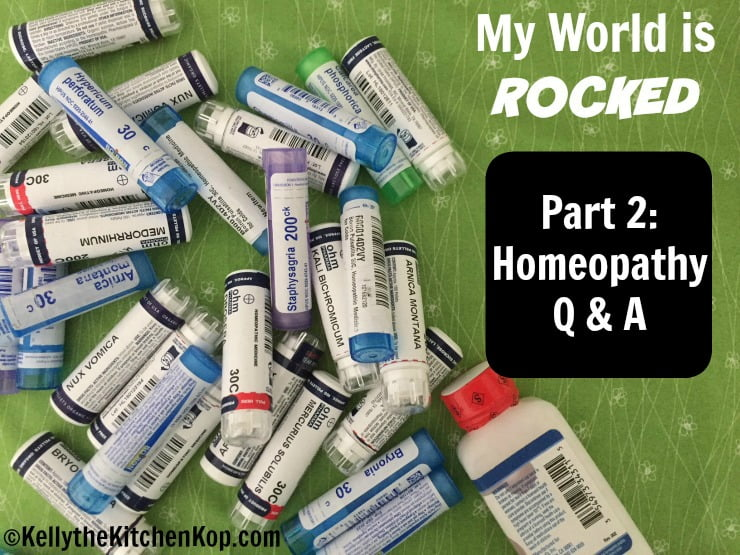 Homeopathy questions