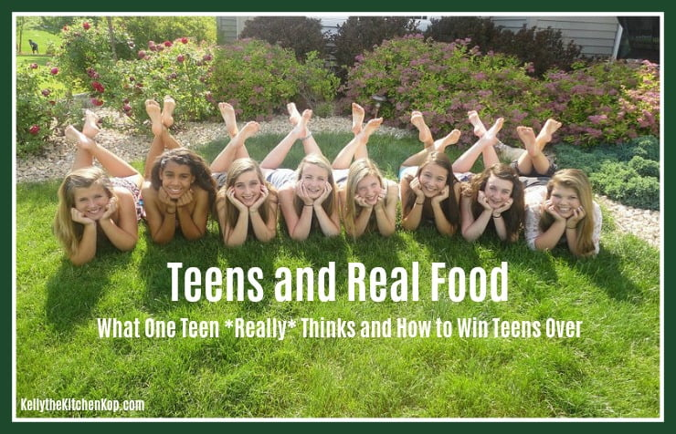 Getting Teens to Eat Real Food