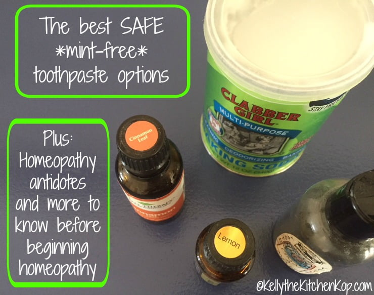safe mint-free toothpaste