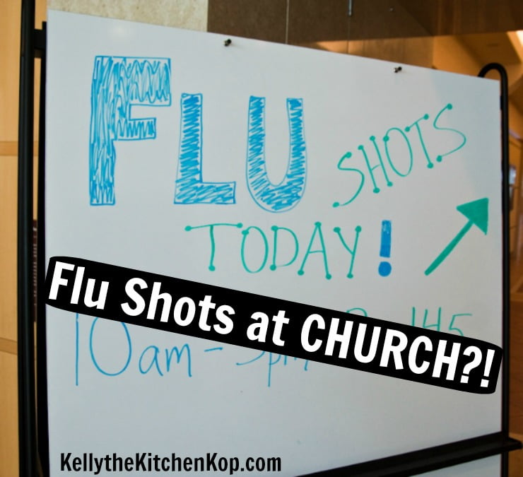 flu shots at church