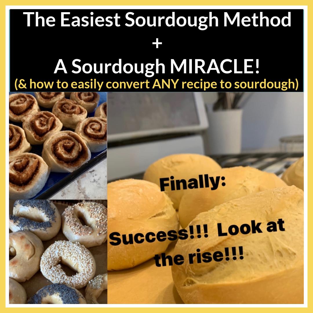 Easiest Sourdough Method